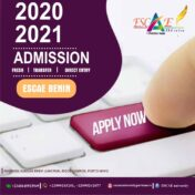 Admissions ongoing for 2020/2021 Academic Session